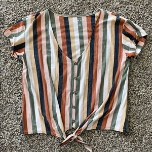 American Eagle striped shirt